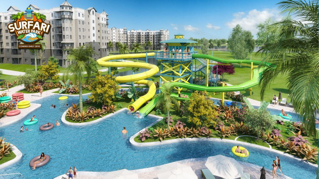 the grove resort spa breaks ground on new surfari water park just - Water Parks In Garden Grove