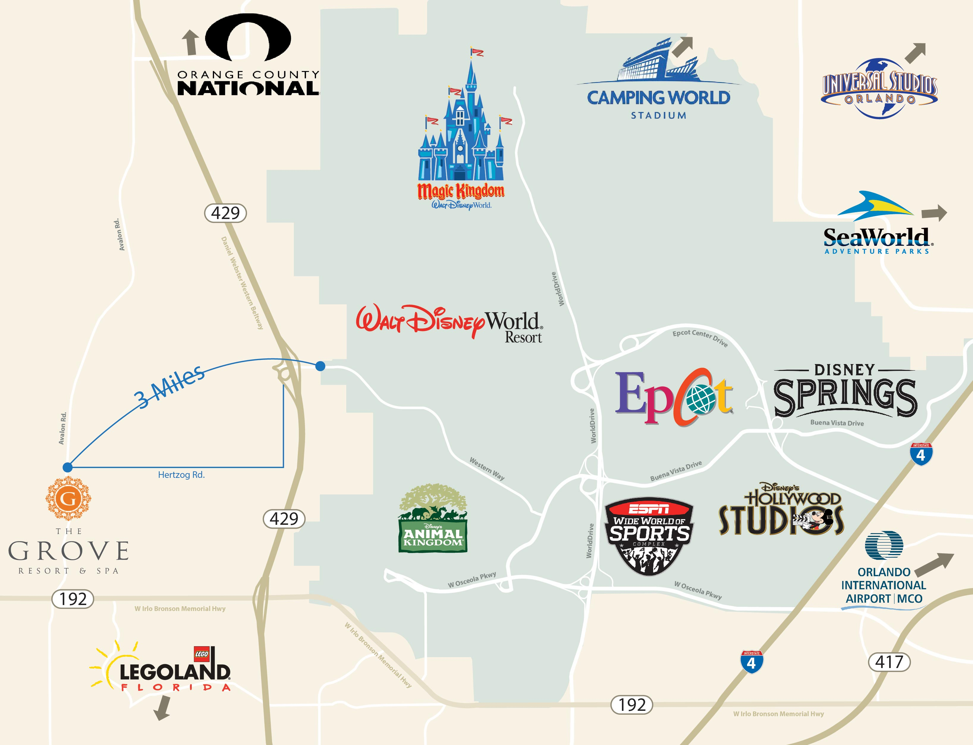 The Grove Resort & Spa Offers Up Free Tickets To Walt Disney World on